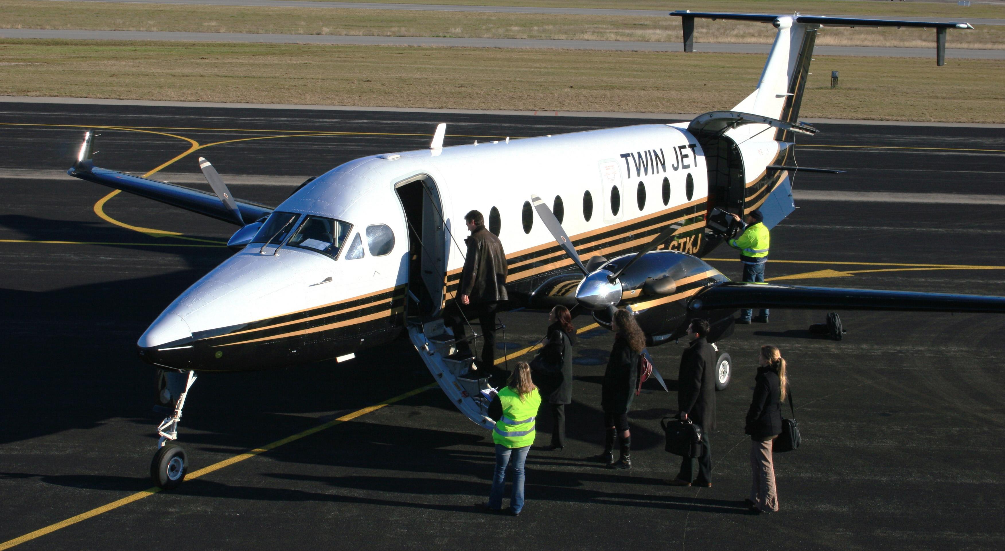 Twin-Jet-Embarquement